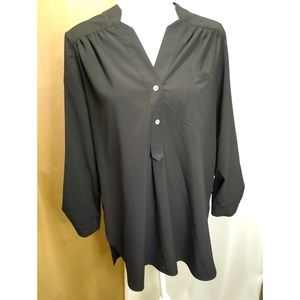 Size M Ellison black long sleeve shirt